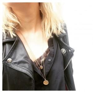 #ootd • perfecto #vintage - blouse en soie #zara -…