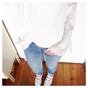 #ootd • robe (portée en blouse) #sheinside - jean #levis…