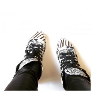 Chaussures du jour (non, je ne les quitte pas <-…