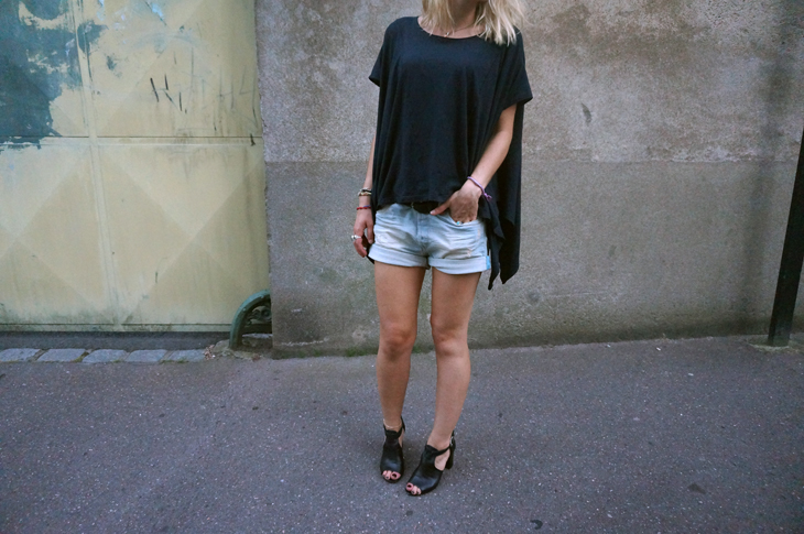 1_look_blog_mode_t_shirt_Kai_aakmann_short_jean_replay_talons_gemo
