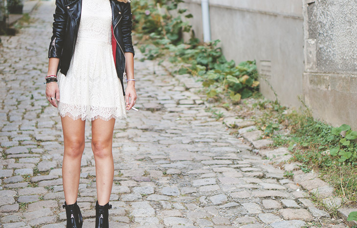 2_look_blog_mode_perfecto_vintage_cuir_robe_dentelle_boohoo_boots_noires