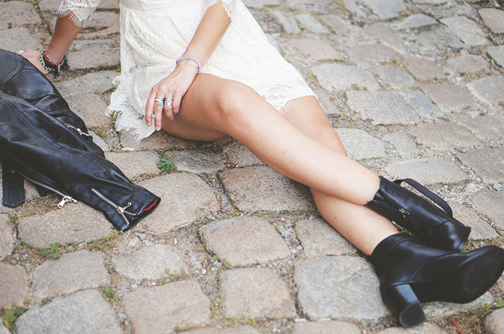 7_look_blog_mode_perfecto_vintage_cuir_robe_dentelle_boohoo_boots_noires