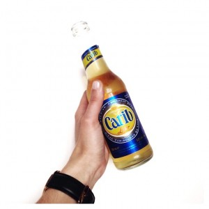 A Carib a day keeps the doctor away. #jeanmichelapeupres #soireesolosoireealcolo