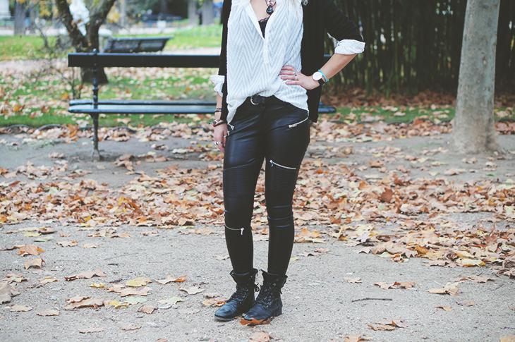 13_look_blog_mode_jardin_luxembourg_paris_gilet_kookai_pantalon_simili_cuir_zara