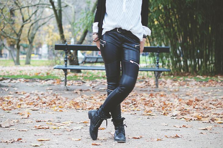 2_look_blog_mode_jardin_luxembourg_paris_gilet_kookai_pantalon_simili_cuir_zara