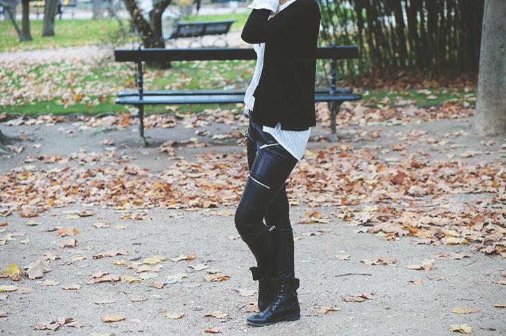 3_look_blog_mode_jardin_luxembourg_paris_gilet_kookai_pantalon_simili_cuir_zara
