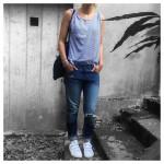 Friday night! ootn  Tshirt Zara  Jean Lefties hellip